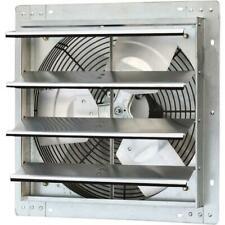 Variable Speed Shutter Exhaust Fan Vent Wall Mounted 16 In 1200 Cfm Commercial
