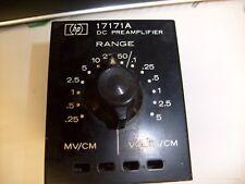 HP 17171A  DC Preamplifier Amplifier Module HEWLETT PACKARD   /r3