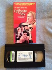 The Opposite of Sex (1998) - VHS Video Tape - Comedy - Christina Ricci