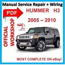 # officiel Workshop Manual Service de réparation pour HUMMER H3 2005 - 2010
