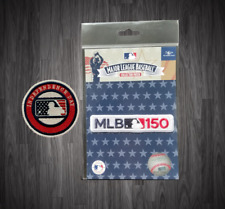 Independence Day Patch + 150th Anniversary Mlb Baseball Jersey Patch embroidered