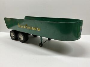 Vintage 1956 Tonka Toys Freighter Toy Truck TRAILER  Green