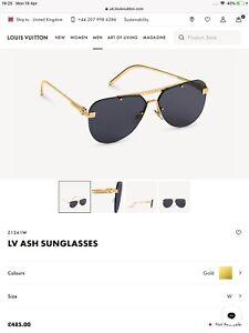 Louis Vuitton Ash Sunglasses Z1261W