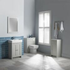 Grey Modern Wall Mounted Bathroom Mirrors