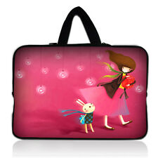 "Girl  Laptop Sleeve Case Carry Bag Pouch For 13"" inch 13.3"" Macbook Pro / Air"