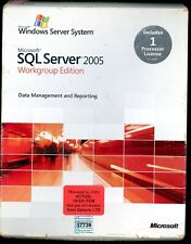 Open Box - A5K-01020 Microsoft Windows SQL Server 2005 Workgroup 1 Processor