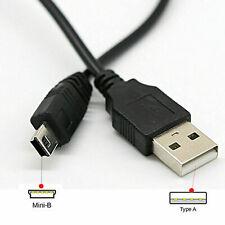 Cable Mini USB Sincronización y carga de carga de plomo tipo A a 5 Pin B Cargador de teléfono
