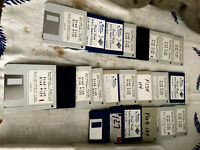 """Vintage Collection - 22 Amiga/Commodore Fred Fish Software 3.5"""" Floppy Disks"""