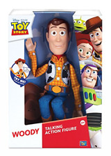 New Disney-Pixar Toy Story SHERIFF WOODY Talking Action Figure Thinking Toy