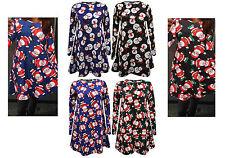 Unbranded Crew Neck Festive Plus Size Dresses for Women