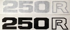 HONDA XL250 XL250R SIDE PANEL DECALS 2