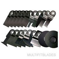 20 Piece Oscillating Multi-Tool Blades Kit: Multimaster, Bosch, Dremel Multi-Max