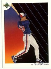 1991 Upper Deck Montreal Expos 30 card Team Set plus hologram card