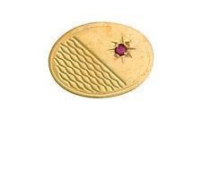 Ruby bavero pin foulard da collo pin giallo oro MADE to Order nel trimestre gioielleria b'ham