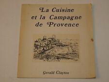 La cuisine et la campagne de Provence Léon Fargues 1974 recueil recette