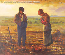 """""""The Angelus,"""" by Jean-François Millet, Reproduction in Oil, 26""""x22"""""""