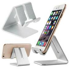 Universal Cell Phone Tablet Desktop Stand Desk Holder Mount Cradle Aluminium US