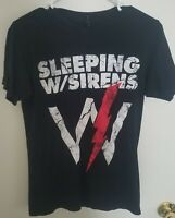 Sleeping With Sirens 2016 Tour T-shirt, Small, Band,