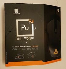 Lexip - Pu94 Wired Gaming Mouse - Black - NEW Open box