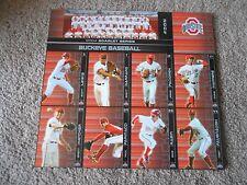 2004 Uncut Ohio State Big Ten College Baseball Card Set Scott Lewis