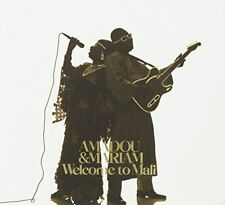 Amadou and Mariam Welcome to Mali CD 15 Track Fold out Sleeve With Outer Slip