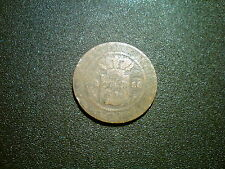 1856 NETHERLANDS EAST INDIES 1 CENT COIN. METAL DETECTING FIND