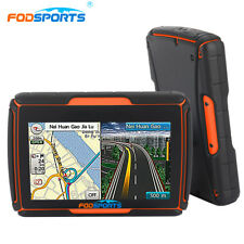 "4.3"" Waterproof Motorcycle Bike GPS Navigation SAT NAV Bluetooth 8GB +Maps"