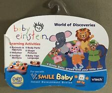 Vtech V.Smile Baby Baby Einstein World Of Discoveries 9-36 Months NIP