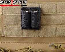 2X CR123A Battery Elastic Loop Holder for Blackhawk Condor Voodoo Tactical Bag