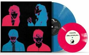 """Inhaler - It Won't Always Be Like This Blue Vinyl LP with Pink 7"""" & SIGNED PRINT"""