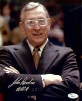 John Wooden Signed Autographed 8X10 Photo UCLA Bruins Legendary Coach JSA COA