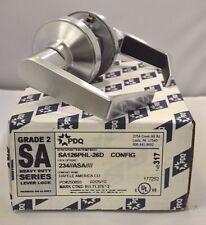 "PDQ Commercial Lockset SA-126 PHL PASSAGE 2 3/4"" BACKSET ASA STRIKE SCHLAGE 26D"
