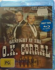 *NEW & SEALED* Gunfight At The O.K. Corral blu ray - Burt Lancaster/Kirk Douglas