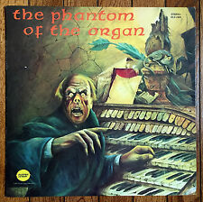 Spooky Horror LP ~ PHANTOM OF THE ORGAN ~ ELECTRIC LEMON '73 orig ~ NICE!