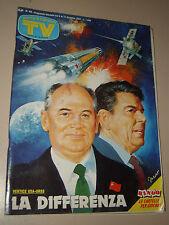 TV SORRISI CANZONI=1987/49=GEORGE MICHAEL=TERENCE HILL=BRUNO GAMBAROTTA=FALETTI=