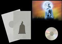 Airbrush Schablone / Step by Step / Stencil / 0580 Rabe/Grabstein & Anl. CD