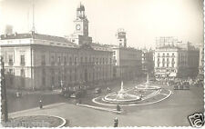 ANTIGUA POSTAL MADRID PUERTA DEL SOL DIRECCION GENERAL DE SEGURIDAD      CC00195