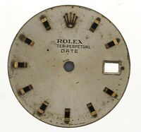 ROLEX OYSTER-PERPETUAL DATE LADIES WRISTWATCH DIAL FOR RESTORATION W160