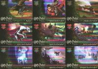 Harry Potter and the Prisoner of Azkaban Update Prismatic Foil Chase Card Set 9