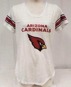 Brand New Majestic women's NFL Arizona Cardinals Short Sleeve Shirt