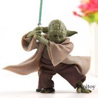 Star Wars Yoda Figuren Film Action Neu Figur Spielzeug Sammeln jedi Puppe Selten