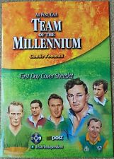 Ireland Stamps,GAA Gaelic Football Team of the Millennium First day cover sheet