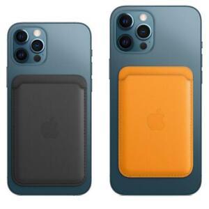 Für iPhone 12/ 12 Pro/12 Max/ 12 Mini MagSafe Wallet Kartenhalter Kunstleder Etu