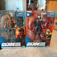 GI Joe Classified Series Cobra Commander & Gung Ho Lot of 2 NEW Action Figures