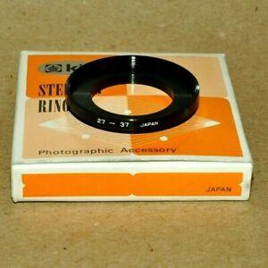 king  Stepping Ring 27-37 anello adattatore da lente 27mm a 37mm nuovo