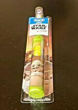 Oral-B Kids Electric Toothbrush The Mandalorian Baby Yoda Star Wars SAMEDAY SHIP