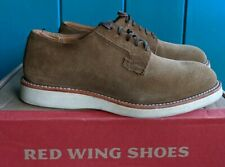 Red Wing Heritage Postman Oxford 3104 Green Suede Nubuck Rough Out Leather 7.5