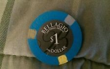 Bellagio Casino Las Vegas $1 Poker Chip