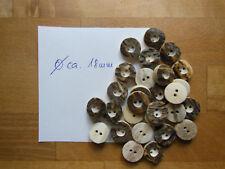 1 - ?? Stück Hirschhorn Knöpfe echtes Hirschhorn ca. 18 mm DM Tracht/Oktoberfest