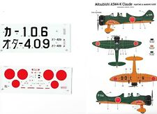 CLASSIC AIRFRAMES DECALC /STIKERS  MITSUBISHI A54K CLAUDE 1/48
